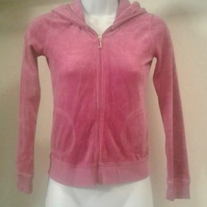 Juicy Couture Hooded Velour Tracksuit Sweater